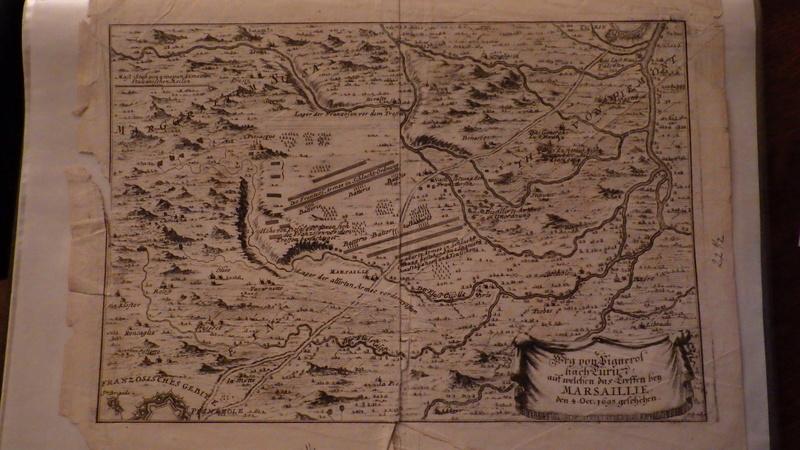 Déployement des troupes le 4 octobre 1609 sur la route de Pignerol... Rimg4111