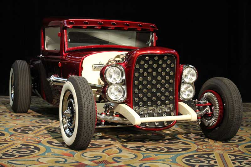 Larry Woods - '31 Ford Pick up hot rod - Boerne Stage Kustom 31-for10