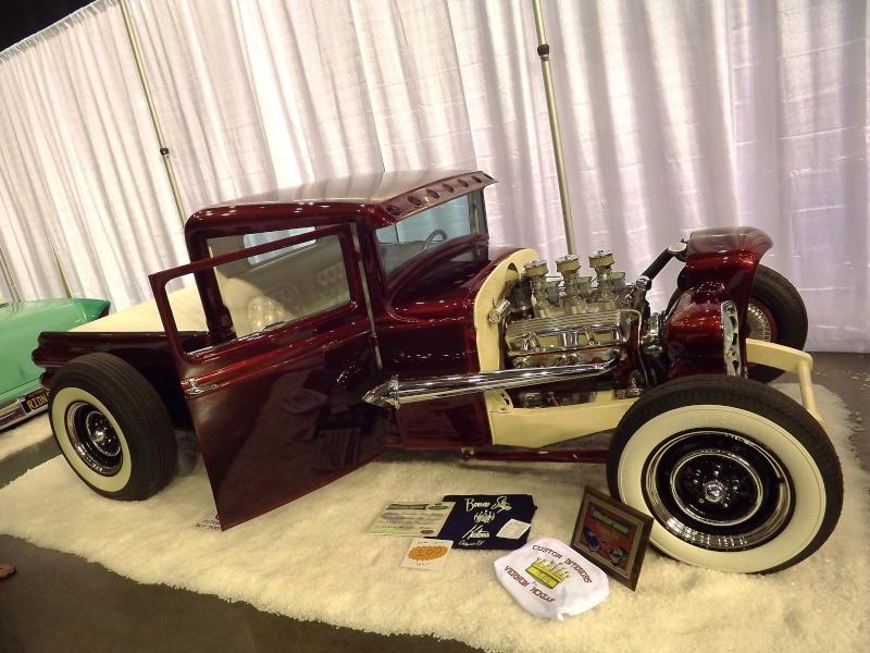 Larry Woods - '31 Ford Pick up hot rod - Boerne Stage Kustom 62225110