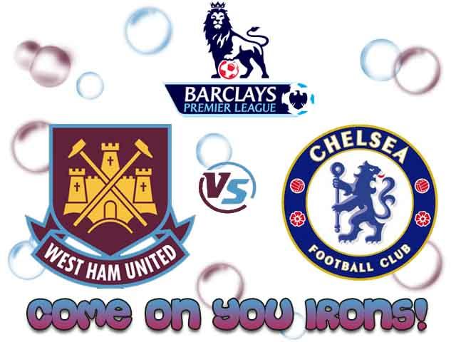 Premier League - Journée 12 - 23/11/2013 @ 18:30west-ham-utd/chelsea West_h12