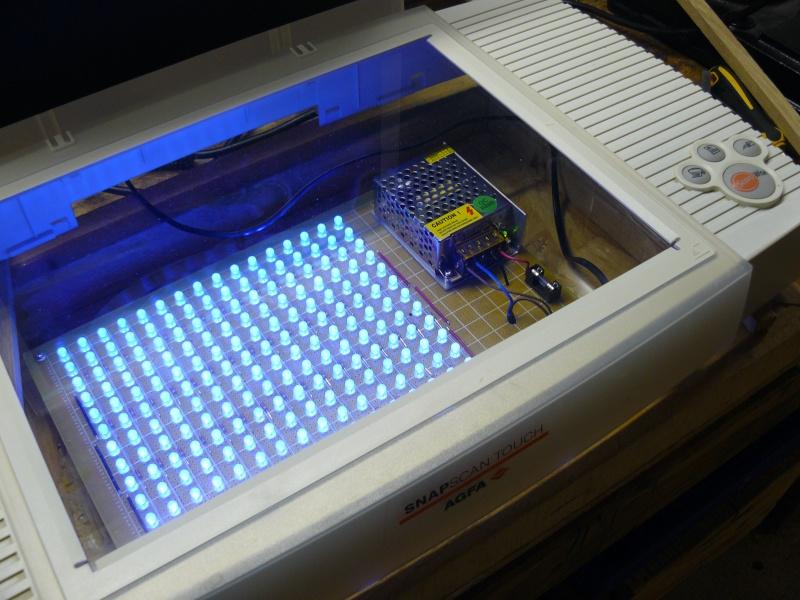[Réalisation] Insoleuse à LEDs Scanne10