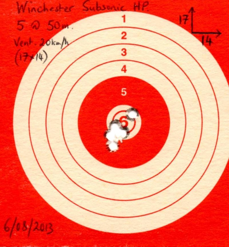 Choix 22lr pour tir en stand Target10