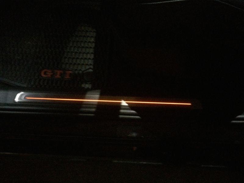 Seuil de porte LED grillé 60439011