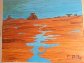mes peinture,taille de pierre et dessin P9280013