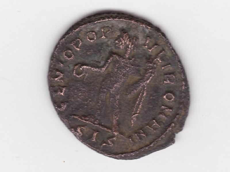 Maximinus II  ¼ de Follis Max210