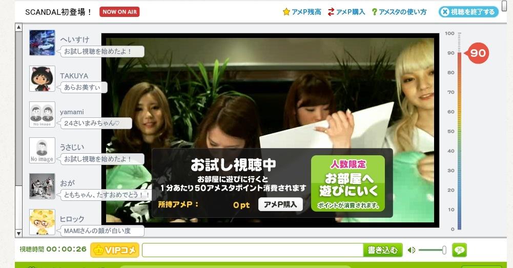 Ameba Studio - MAMI & TOMOMI Birthday Premium Night Untitl10