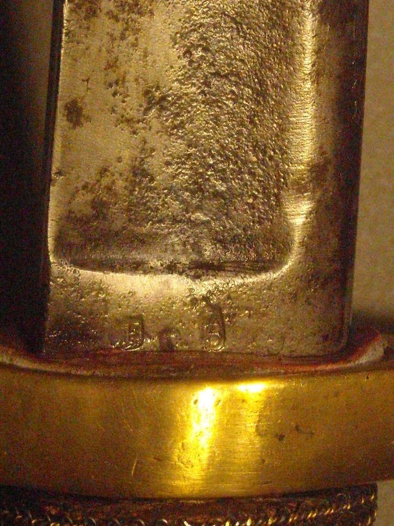 Sabre D'officier Artillerie Montée modèle 1829 Dscn1421