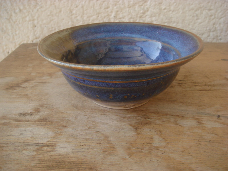 Lovely glazed bowl...marked..not sure from whence Copied19