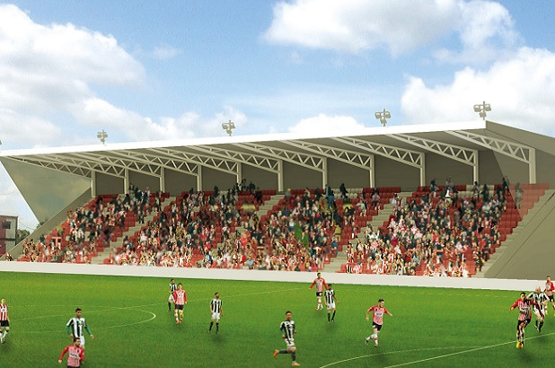 Exeter City announce start date for St James's Park development 1a12