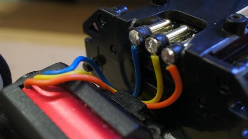 Fils connexion Kyosho moteur brushless Cable_10