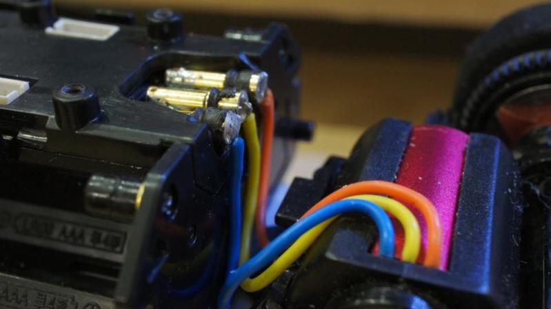 Fils connexion Kyosho moteur brushless Cable_11