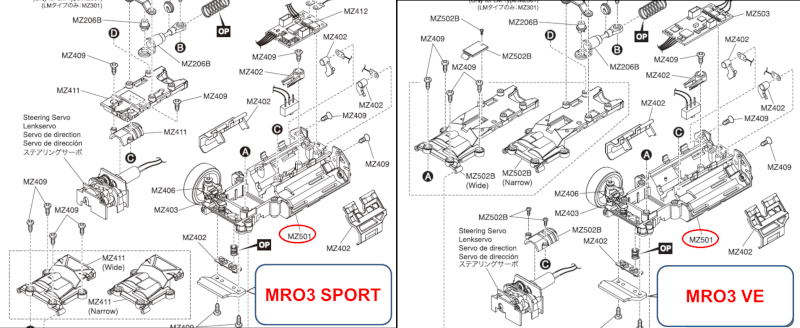 Differences chassis MR03 et MR03 VE - Page 3 Nouvel14