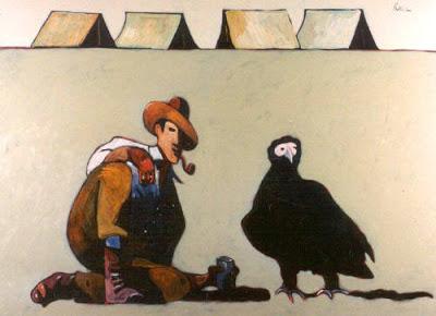 Roy Chapman en el Desierto de Gobi por Thom Ross Thom_r11