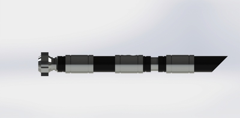La Forge de Nico - Sabre de Louis F Vue_210