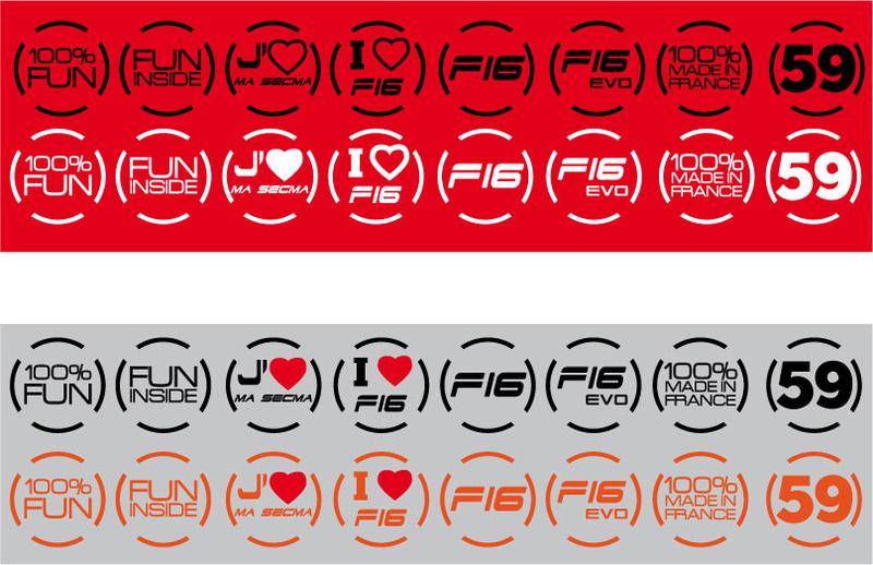 Stickers SECMA - I love my SECMA... Rond_c11