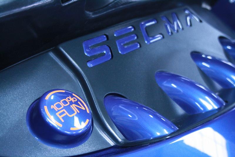 Stickers SECMA - I love my SECMA... Rond_c12