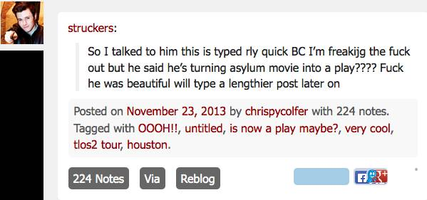 News and Tweets about Chris's second movie - Page 2 Chrisc10