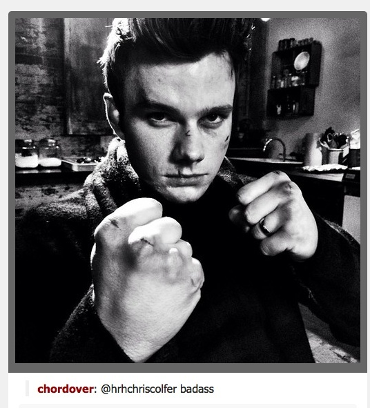 Chris Colfer Tweets - Page 36 Chrisc11