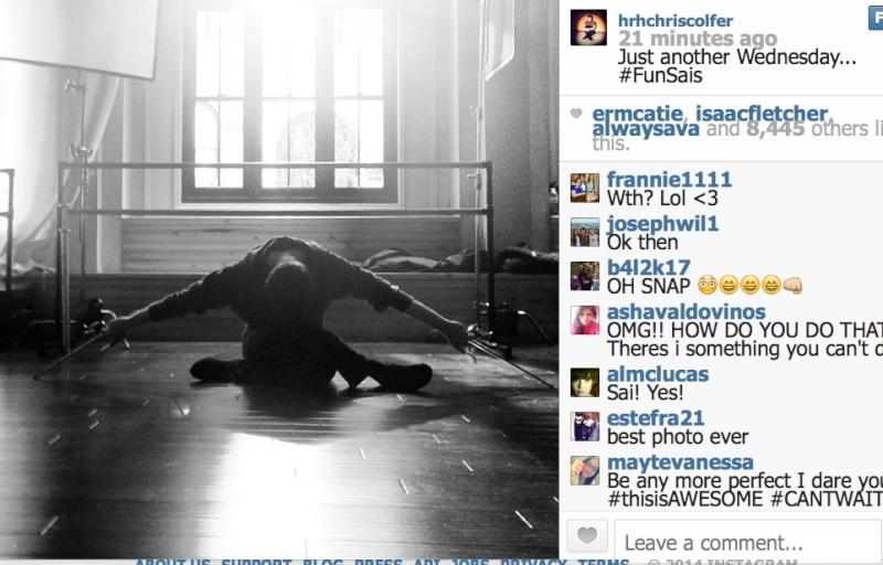 Chris Colfer Instagram - Page 21 Photo_31