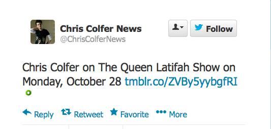 Chris on Queen Latifah Twitte14