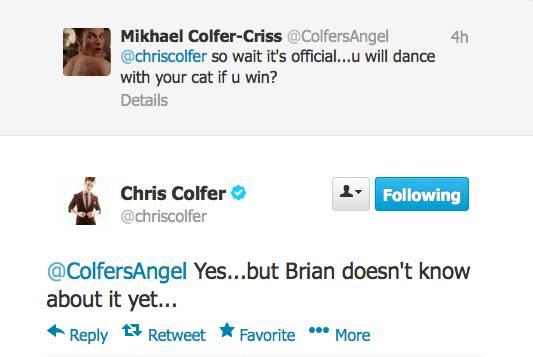 Chris Colfer Tweets - Page 21 Twitte24