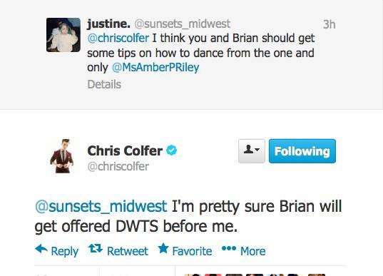 Chris Colfer Tweets - Page 21 Twitte25