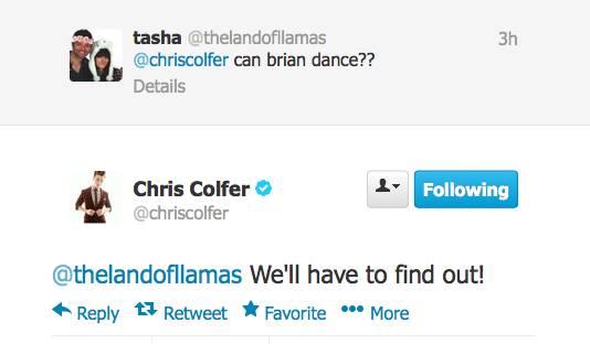 Chris Colfer Tweets - Page 21 Twitte26