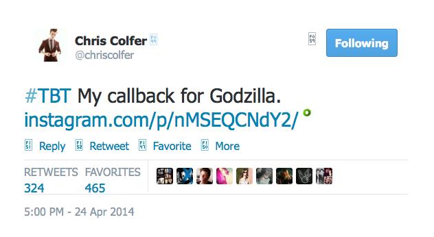Chris Colfer Tweets - Page 36 Twitte44