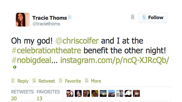 Chris Colfer Tweets - Page 38 Twitte46