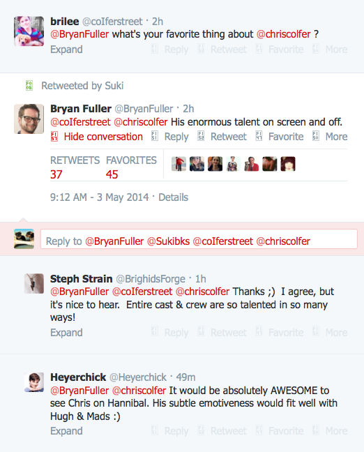 Chris Colfer Tweets - Page 38 Twitte48