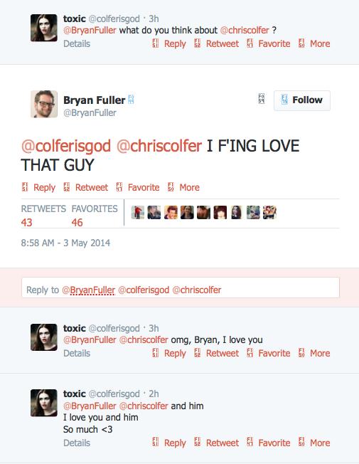 Chris Colfer Tweets - Page 38 Twitte49