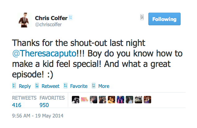 Chris Colfer Tweets Twitte59