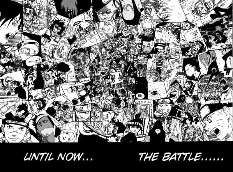 Les différents arcs Naruto39