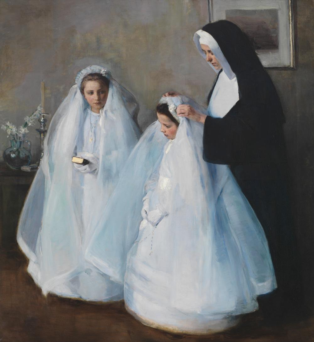 La Première Communion, par Elizabeth Nourse Nourse10