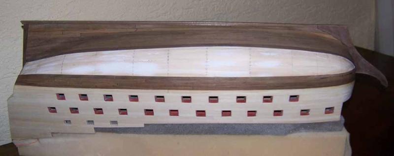 La Licorne ex-kit remaniée en scratch 1:72 fascicules Hachette - Page 37 100_1824