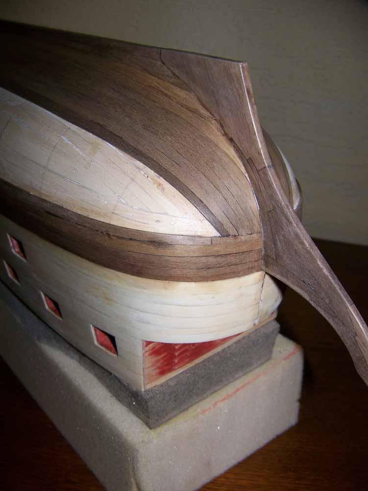 La Licorne ex-kit remaniée en scratch 1:72 fascicules Hachette - Page 37 100_1825