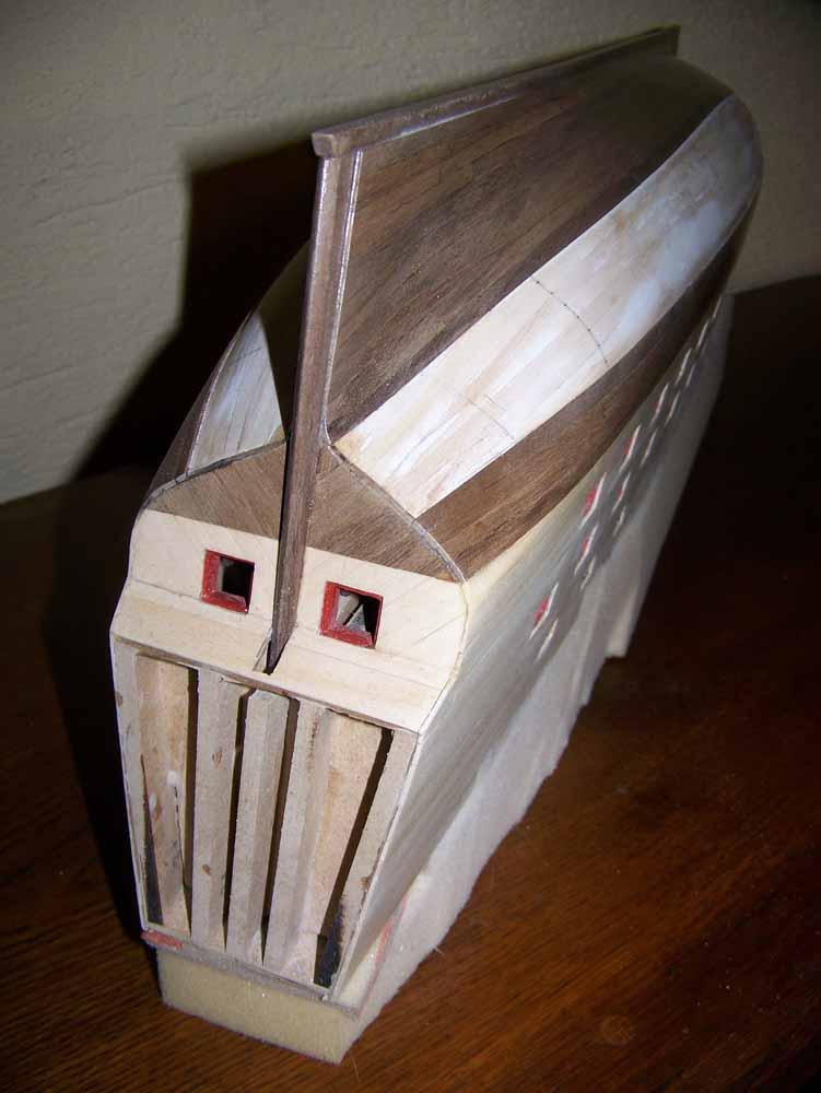 La Licorne ex-kit remaniée en scratch 1:72 fascicules Hachette - Page 37 100_1830