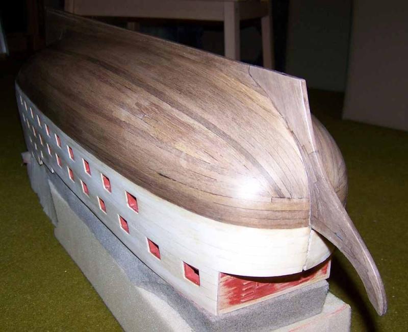 La Licorne ex-kit remaniée en scratch 1:72 fascicules Hachette - Page 37 100_1832