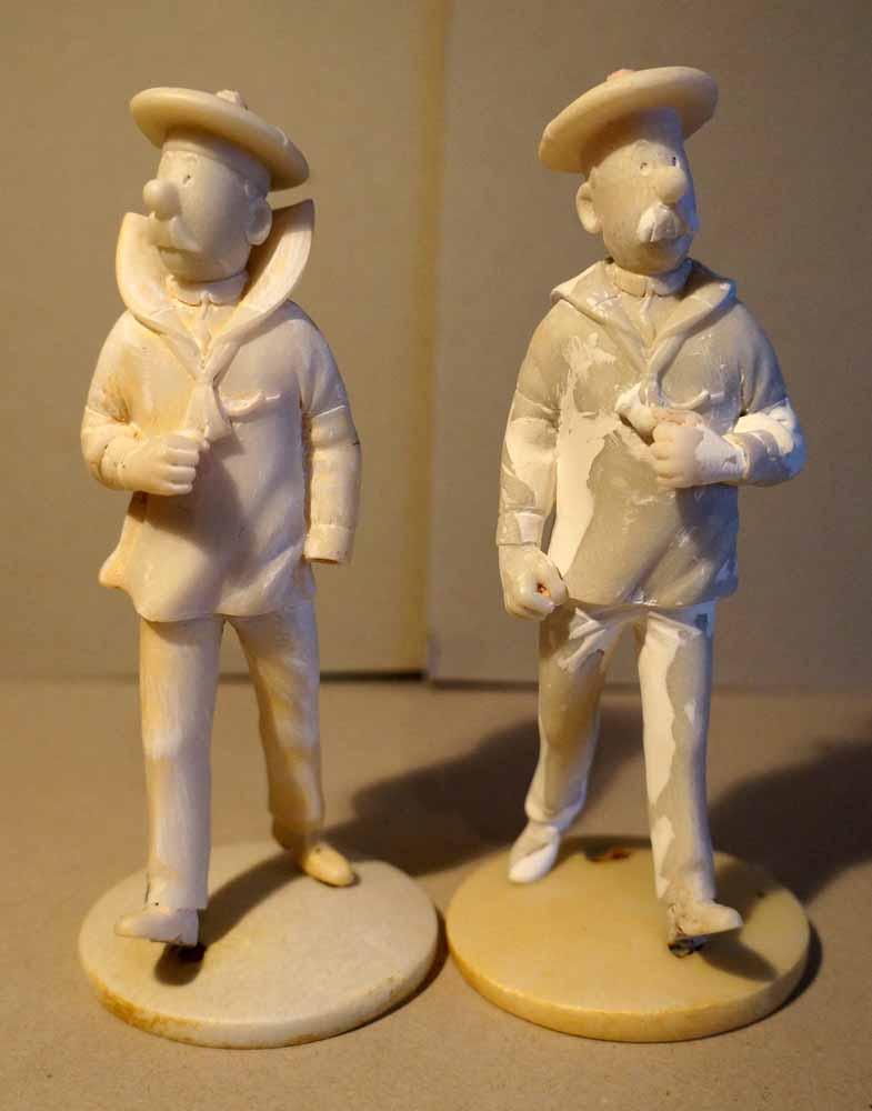 mise en peinture de figurines Tintin - Page 5 Dsc00622