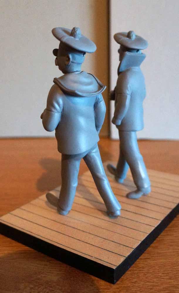 mise en peinture de figurines Tintin - Page 5 Dsc00628
