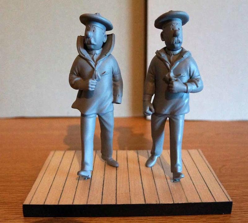 mise en peinture de figurines Tintin - Page 5 Dsc00631