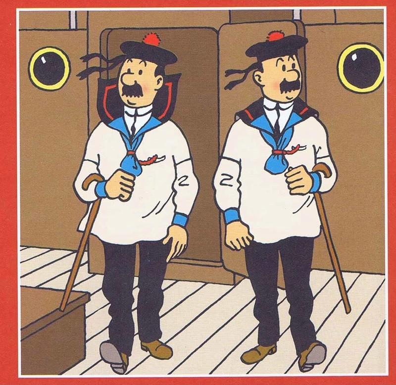 mise en peinture de figurines Tintin - Page 5 Dupond10