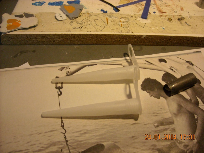 piani  https - modellistinavali forumattivo com - la Calypso di cousteau autocostruita su piani museo della marina parigi - Pagina 17 Immagi53