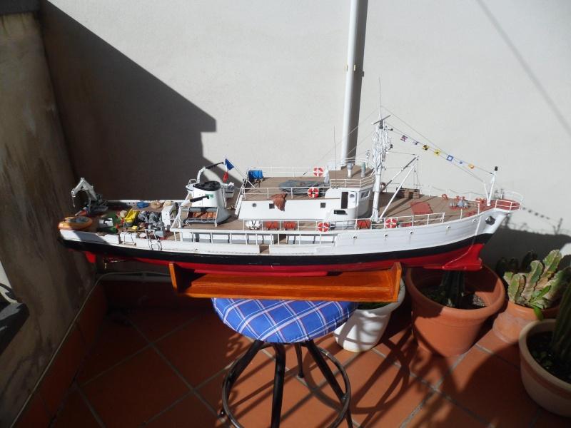 piani  https - modellistinavali forumattivo com - la Calypso di cousteau autocostruita su piani museo della marina parigi - Pagina 17 Immagi59