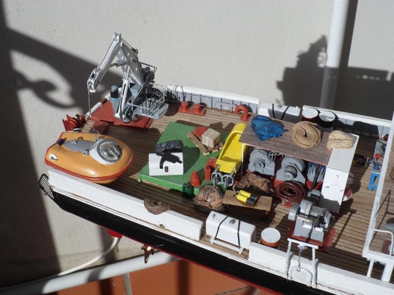 piani  https - modellistinavali forumattivo com - la Calypso di cousteau autocostruita su piani museo della marina parigi - Pagina 17 Immagi62