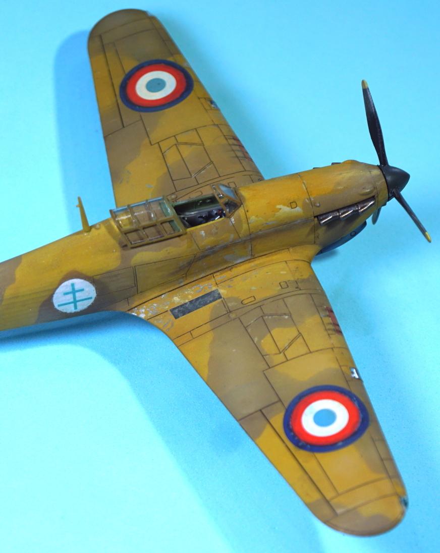 (Arma Hobby) Hurricane Mk I trop - ALSACE - 1/72 - 4 blanc, Z4230 Arma2_46
