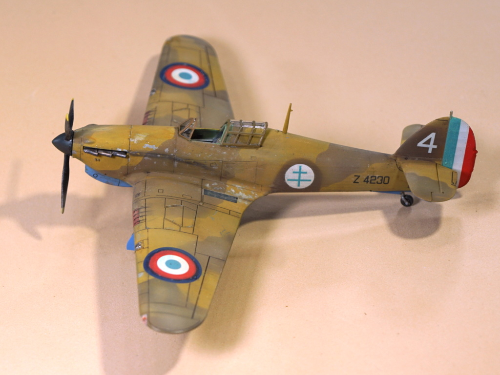 (Arma Hobby) Hurricane Mk I trop - ALSACE - 1/72 - 4 blanc, Z4230 Arma2_49