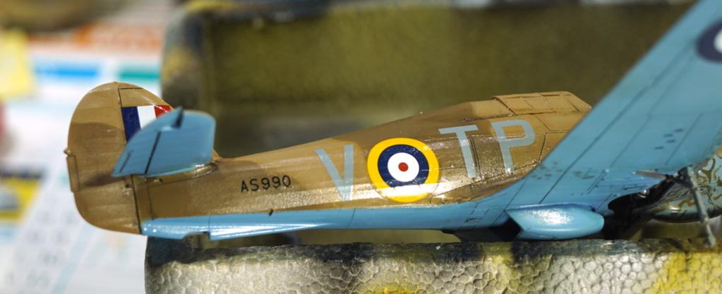 [ARMA HOBBY] Hurricane Mk I metal wing 1/72 -- 73sq Flight B James DENIS (FINI) - Page 8 Arma_934