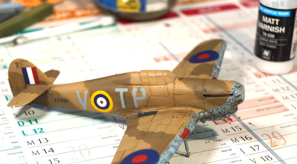 [ARMA HOBBY] Hurricane Mk I metal wing 1/72 -- 73sq Flight B James DENIS (FINI) - Page 9 Arma_935