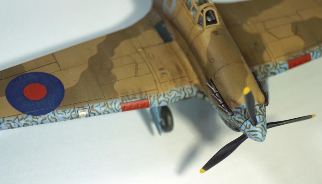 [ARMA HOBBY] Hurricane Mk I metal wing 1/72 -- 73sq Flight B James DENIS (FINI) - Page 9 Arma_937